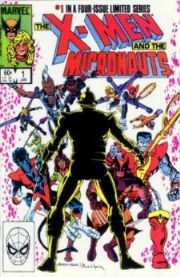 X-Men And The Micronauts Comics